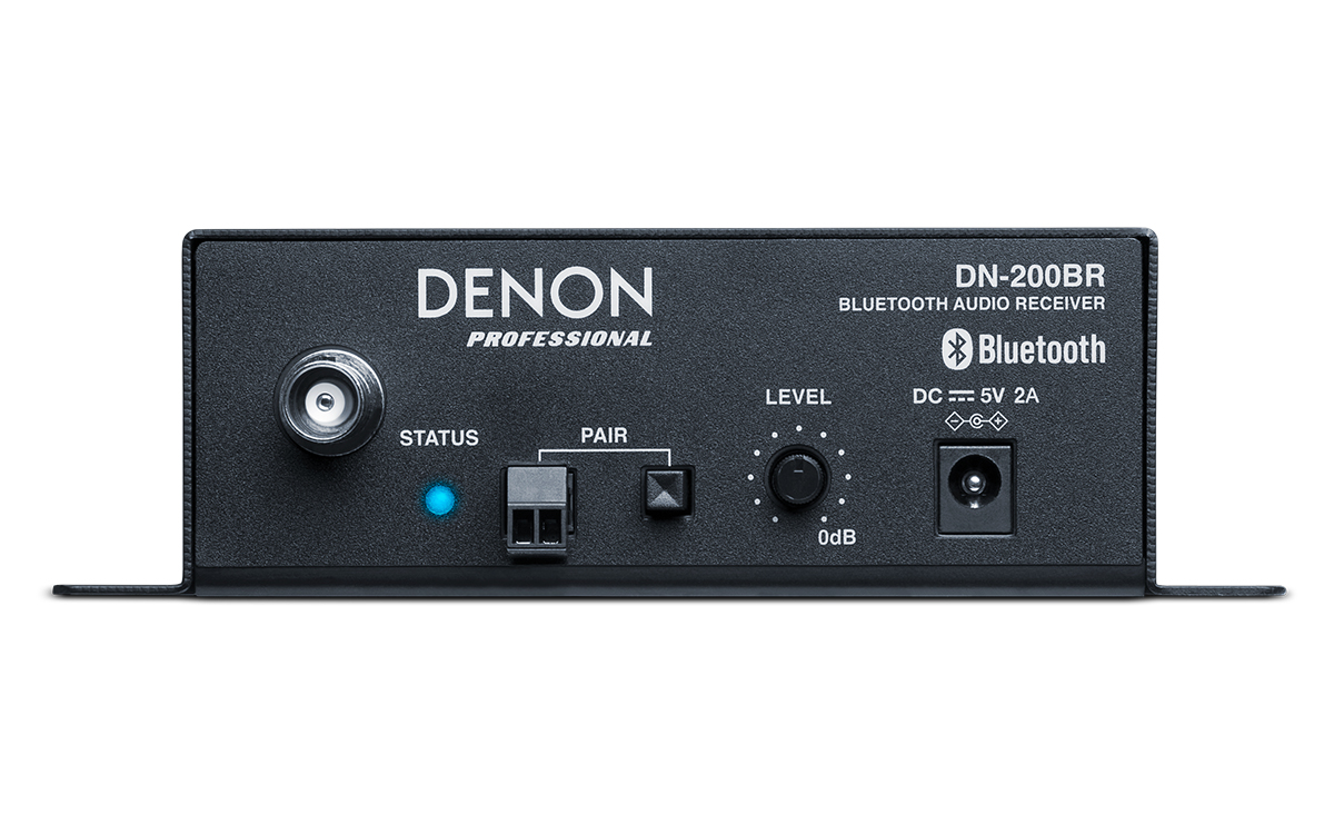 Denon Professional Dn 200br Reciver Bluetoth Adds Bluetooth To Any Audio System